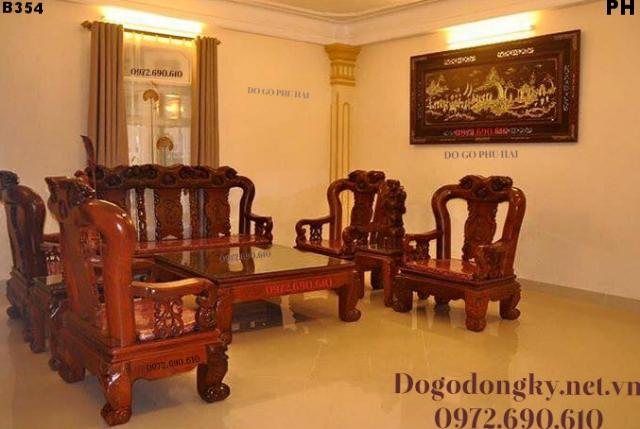 Nơi Bán Bàn Ghế Phòng Khách Giá Rẻ Tại Phú Yên B354