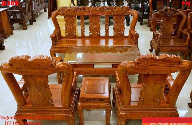 Mua Ngay Bộ Bàn Ghế Phòng Khách đẹp giá rẻ Cột 12 B359