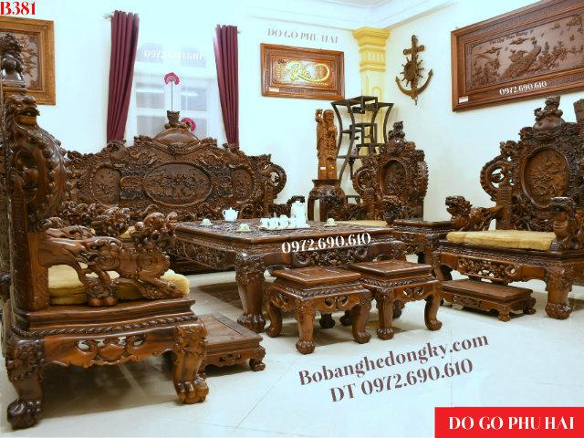 Ngắm Bộ Bàn Ghế Đẹp Giá Trên 500 Triệu Cho Nhà Biệt Thự B...