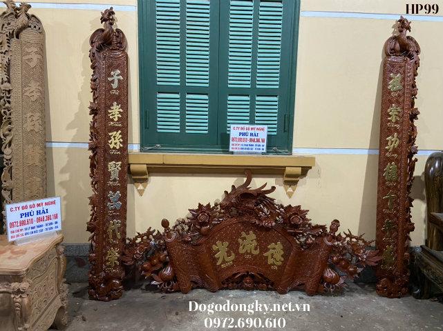 Nơi Bán Bộ Cuốn Thư Câu Đối ( Dát Vàng ) Tại TP Thái Bình HP99