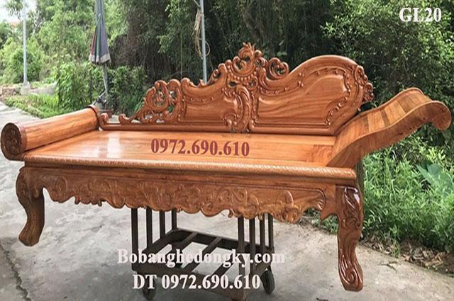 Ghế Gỗ Nằm Thư Giãn Kiểu Sofa Mẫu Đẹp GL20