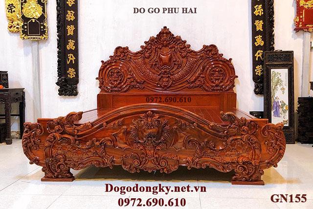 Giường Ngủ Mẫu Hoàng Gia Chỉ Dành Cho Nhà Giàu GN155