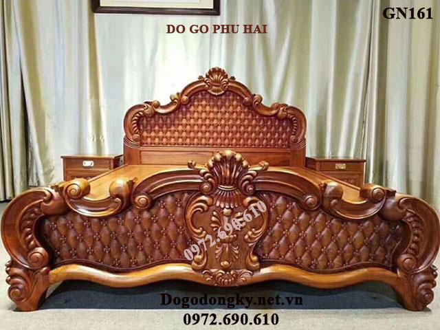 NGẮM Mẫu Giường Ngủ Đẹp Cho Phòng Ngủ Vip GN161