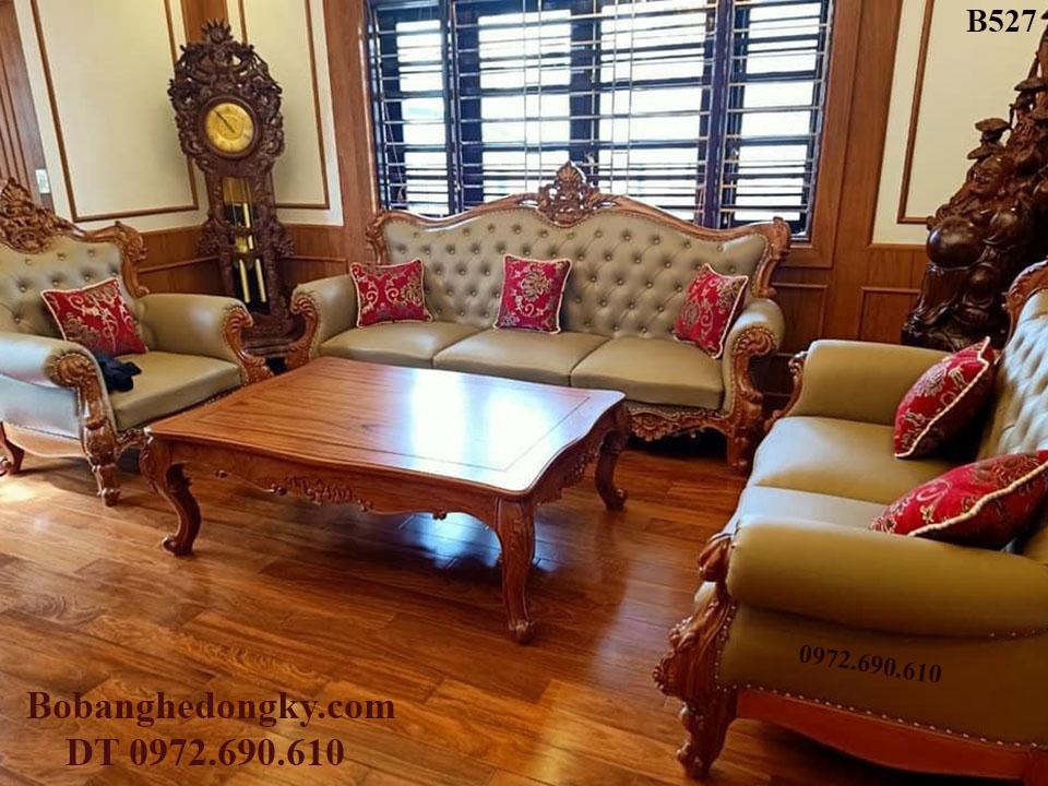 Bộ Bàn Ghế Sofa Phòng Khách Đẹp Giá Rẻ Nhất Cho Mọi Nhà B527...